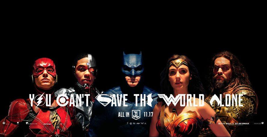 SDCC: Te presentamos el nuevo trailer y más de Justice League