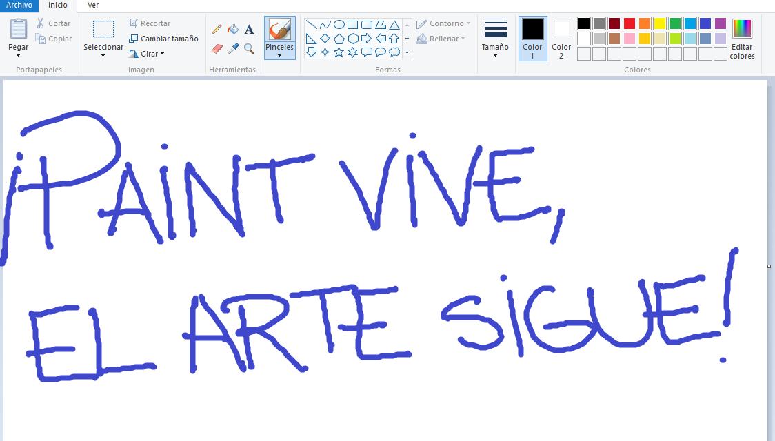 Paint no ha muerto, sólo se muda a la Windows Store