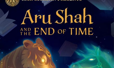Revelada la portada y un fragmento de Aru Shah and the End of Time