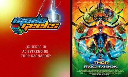 CONCURSO: Thor Ragnarok – Facebook