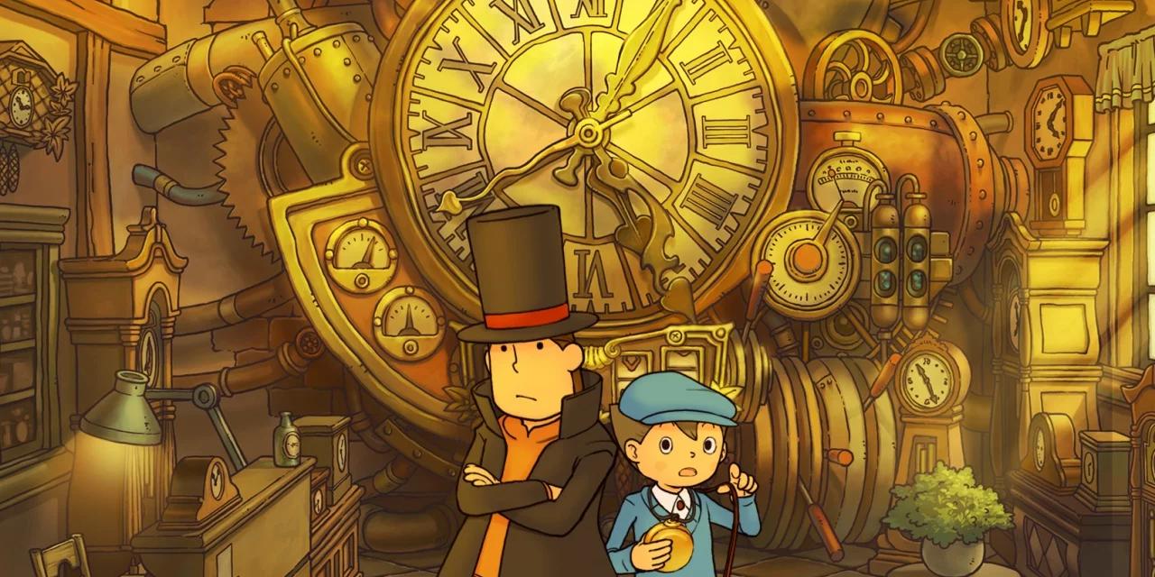 Profesor Layton tendría una serie de anime en proyecto