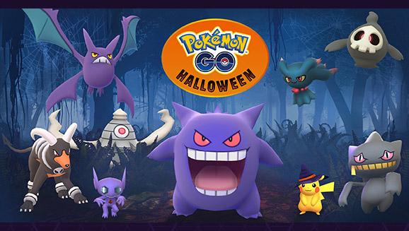 Pokémon Go agrega a los fantasmas de Hoenn al evento de Halloween