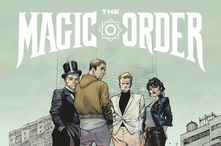 Mark Millar presenta The Magic Order, su primer cómic para Netflix
