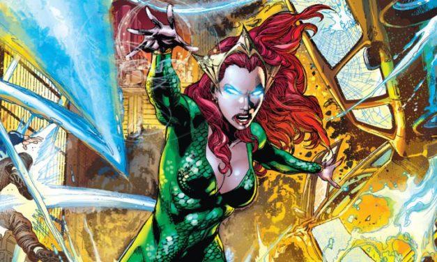 Mera tendrá su propia serie de comic en el 2018