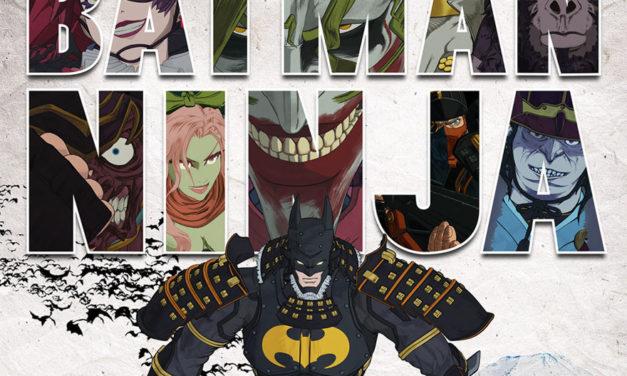 Batman Ninja reveló un nuevo trailer y poster