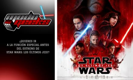 CONCURSO: Star Wars: Los Últimos Jedi – Facebook
