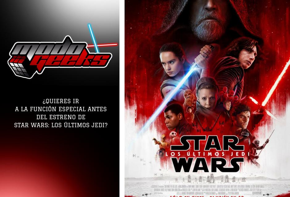 CONCURSO: Star Wars: Los Últimos Jedi – Instagram
