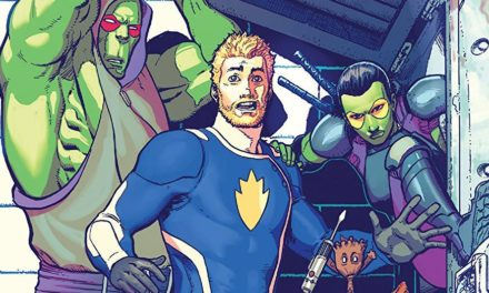 El comic de Guardians of the Galaxy llega a su fin y comienza un nuevo evento