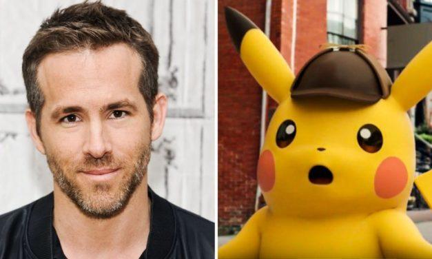Ryan Reynolds protagonizará Detective Pikachu