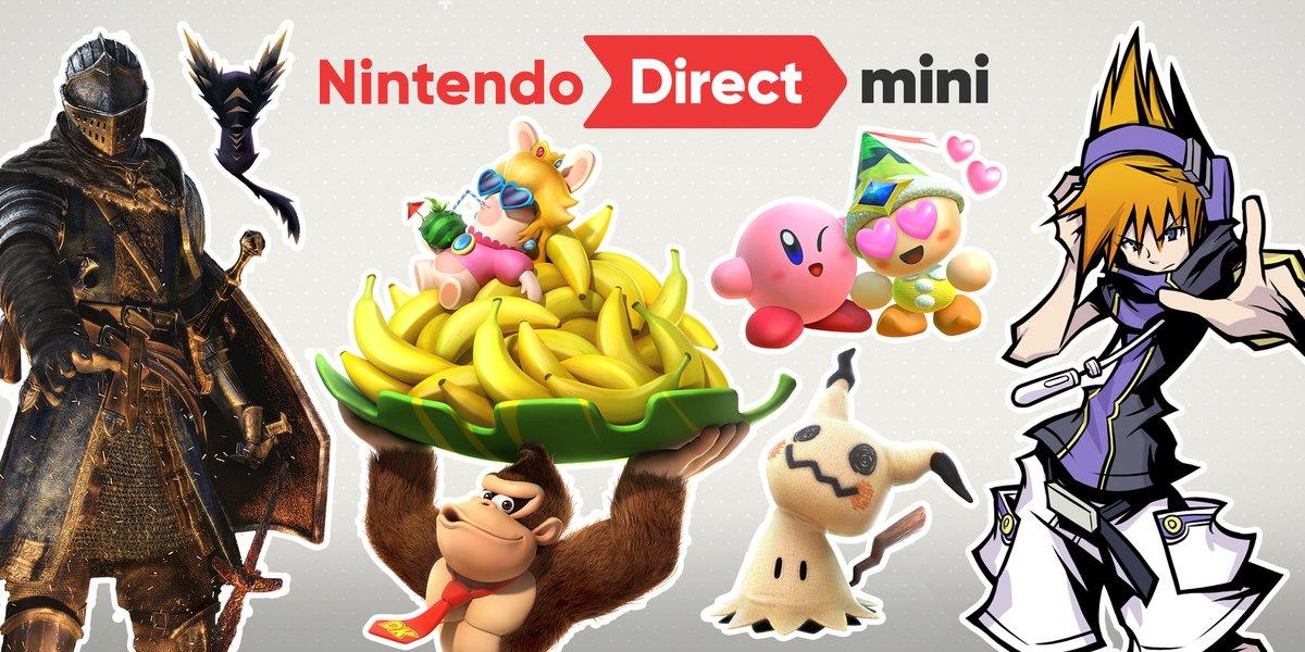 Nintendo Direct: Dark Souls, The World Ends With You y todo lo que llegará a Nintendo Switch en la primera mitad de 2018