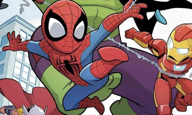 Marvel anuncia la serie de cómics Super Hero Adventures dirigida al público infantil