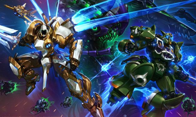 Tyrael, Rehgar y Abathur se unen al universo Mecha Storm de Heroes of the Storm