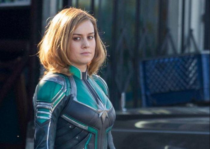 ¿Por qué el traje de Capitán Marvel es verde?