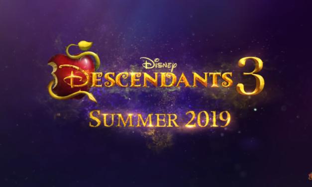Disney Channel confirma Descendants 3