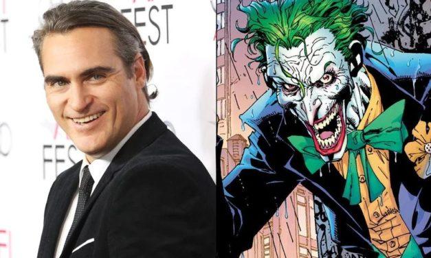 Joaquin Phoenix está en conversaciones para interpretar al Joker