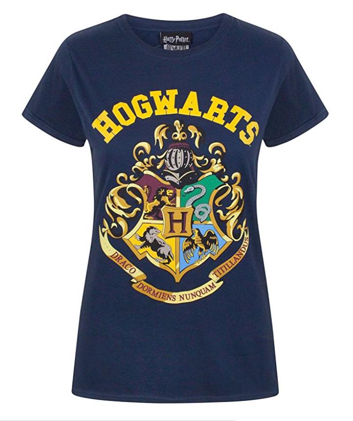50b637bbd Harry Potter – Camiseta Hogwarts – para Mujer